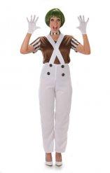 Disfraz mujer obrera de chocolatería