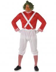 Disfraz hombre obrero chocolatería para adultos