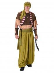 Disfraz de guerrero del desierto ombre