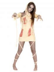 Disfraz momia sangrienta mujer Halloween