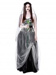 Disfraz de novia gótica mujer Halloween