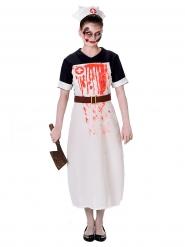 Disfraz enfermera sangrienta para mujer Halloween