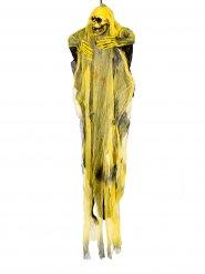 Decoración segador negro y amarillo 60 cm