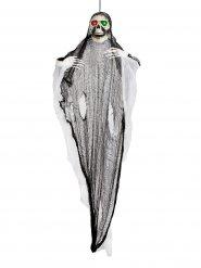 Decoración luminosa fantasma esqueleto gigante Halloween