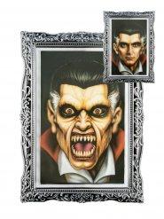 Cuadro lenticular retrato vampiro Halloween