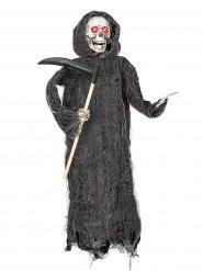 Decoración segadora animada Halloween 46 cm