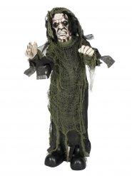Decoración zombie de miedo animada 75 cm