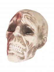 Calavera zombie Halloween 15 x 18 x 16 cm