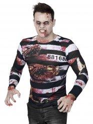 Camiseta zombie prisionero Halloween
