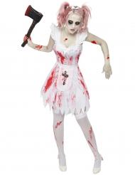 Disfraz dama de honor zombie mujer Halloween