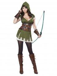 Disfraz arquero del bosque mujer