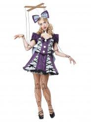 Disfraz de muñeca títere mujer