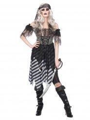 Disfraz pirata gótica mujer