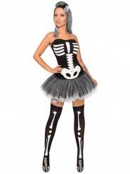 Disfraz esqueleto sexy para mujer Halloween