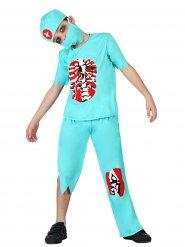 Disfraz doctor zombie Halloween niño