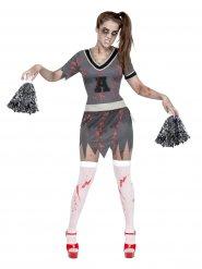 Disfraz zombie animadora Halloween mujer