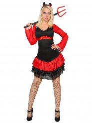 Disfraz sexy de diablesa para mujer Halloween