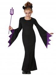 Disfraz de bruja diabólica niña Halloween