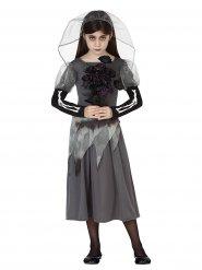 Disfras de novia fantasma niña Halloween