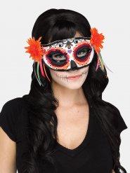 Máscara ojos venecianos Día de los muertos