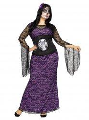 Disfraz Día de los muertos mujer talla grande Halloween