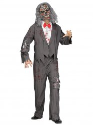 Disfraz de camarero zombie hombre Halloween