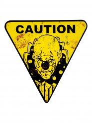 Decoración payaso peligroso Halloween