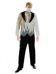 Disfraz novia zombie hombre