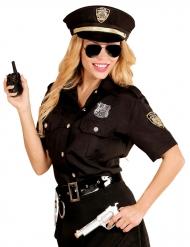 Disraz negro de policia mujer