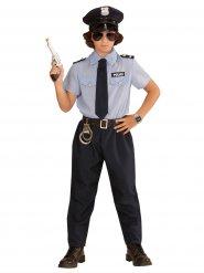 Disfraz policía para niño