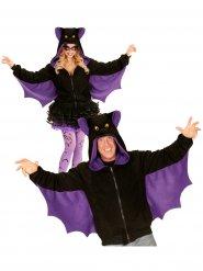 Chaqueta murciélago adulto Halloween