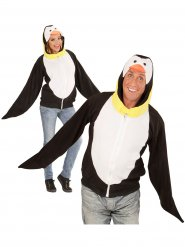 Disfraz chaqueta pingüino adulto