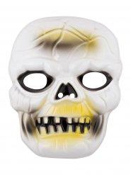 Máscara de esqueleto terrorífico