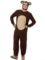 Disfraz oso marrón adulto