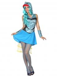 Disfraz de pescado mujer