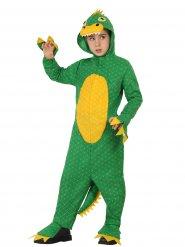 Disfraz dinosaurio niño verde