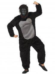 Disfraz gorila adulto negro