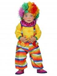 Disfraz bebé payaso de circo