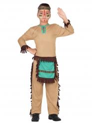 Disfraz indio del lejano oriente niño