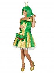 Disfraz princesa rana mujer