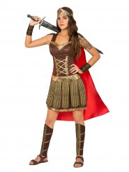 Disfraz gladiadora antigua mujer