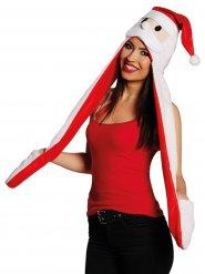 Gorro Papá Noel con bufanda y mitones adulto