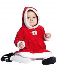 Disfraz pequeña señorita Navidad bebé