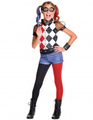 Disfraz lujo Harley Quinn™ niña - Superhero Girls™