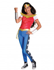 Disfraz lujo Wonder Woman™ niña - Superhero Girls™