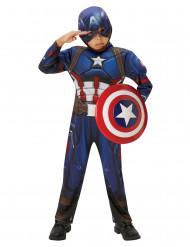 Disfraz Marvel Civil War Captain America™ niño