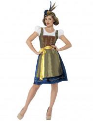 Disfraz de bávara lujo mujer