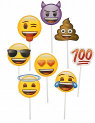 8 Accesorios photocall Emoji™