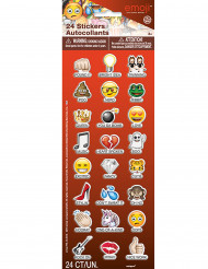 24 Pegatinas Emoji™