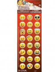 24 Pegatinas autoadhesivas Emoji™